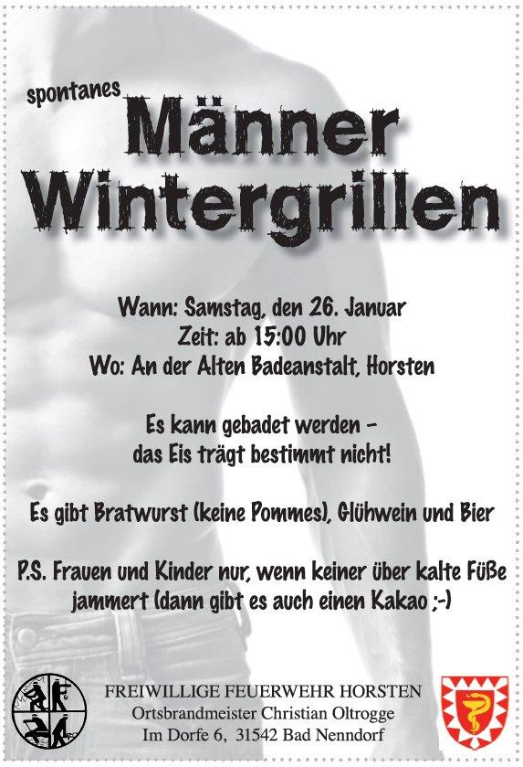 Wintergrillen 2013 | Horsten